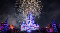 Foto: Istana Putri Tidur Disneyland (Walt Disney World)