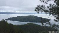 Panorama Danau Toba dari Taman Sipinsur (Jefris/detikravel)