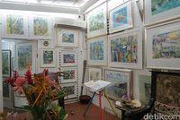 Suasana di Michael Adams Art Gallery (Fitraya/detikTravel)