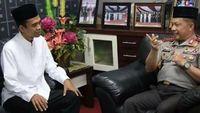 Kapolri Bertemu Ustaz Abdul Somad, Diskusi dan Silaturahmi
