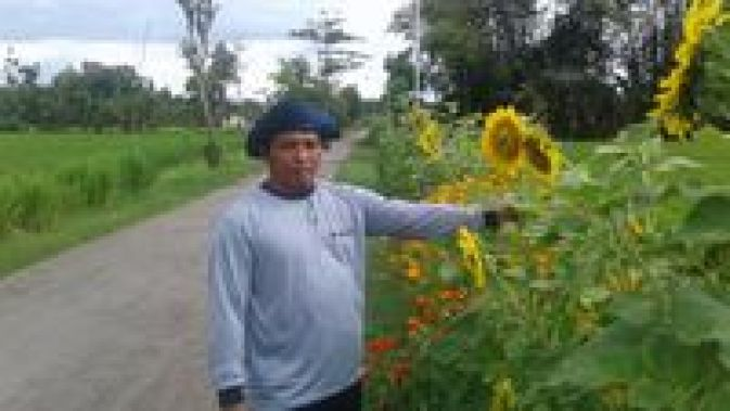 Hasil gambar untuk gambar Petani Ini Tanam Bunga Untuk Minimalkan Pestisida dan Usir Hama