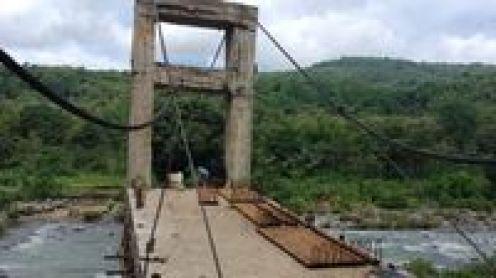 Melihat Progres Pembangunan Jembatan Mangkrak di Maros