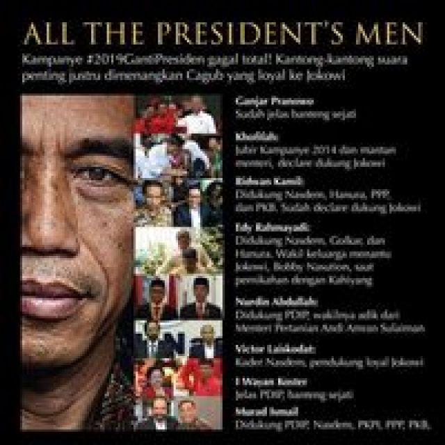 Benarkah Gubernur Baru Hasil Quick Count All President's Men?