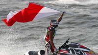 Indonesia meraih satu medali emas melalui cabang jetski.