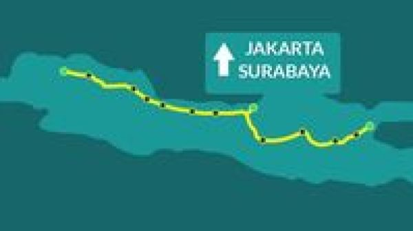 Cargo darat Jakarta-Surabaya