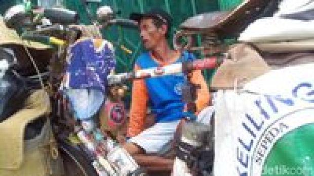 Edi Ismunir pesepeda keliling Indonesia
