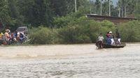 Banjir melanda 6 kecamatan.