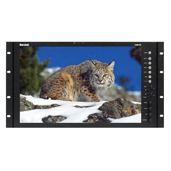 MARSHALL RACK MOUNT MONITORS