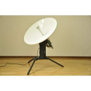 NEW 85CM KA BAND MOTORISED FLYAWAY ANTENNA