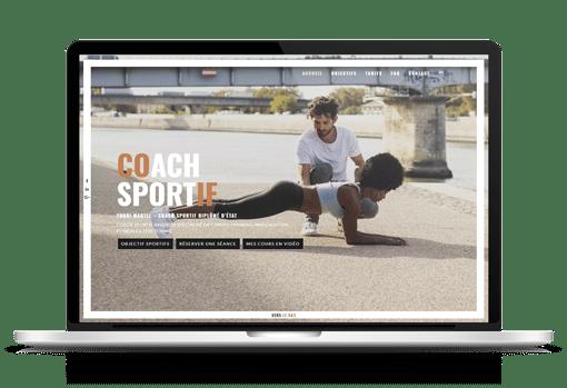 Site internet Coach Sportif 84 à Avignon - Youri Martel
