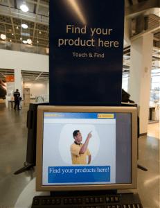 IKEA-kiosk