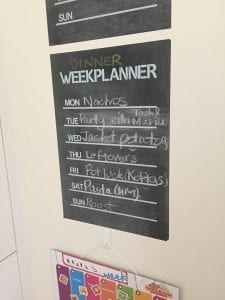 meal planning tool for busy mums