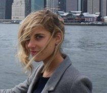 Eline MARIN , étudiante en medecine dont le projet a gagné (www.akeza.net)