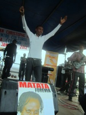 Rally Joe au CMM à Kinama (www.akeza.net)