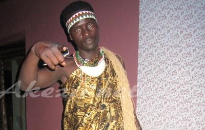 Le rappeur Mkombozi (www.akeza.net)