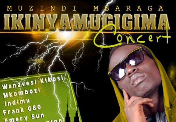 Une partie de l'affiche du concert de SAT B (www.akeza.net)