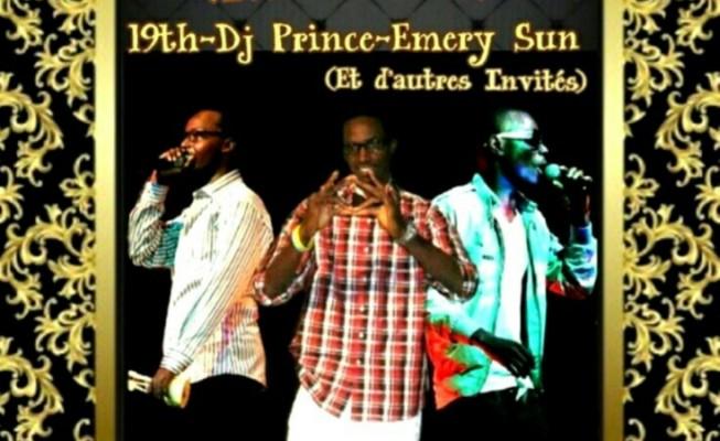 19th, DJ Prince & Emery Sun , réunis pour l' Abami Tour (www.akeza.net)