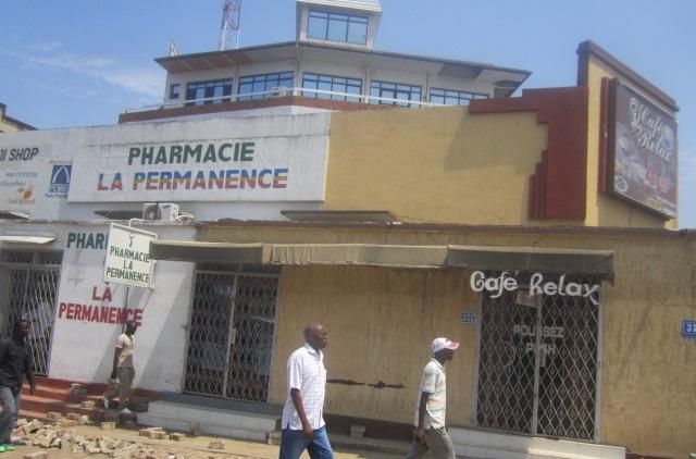 Vous reconnaitrez peut être cet endroit : c'était fermé aujourd'hui . (www.akeza.net)