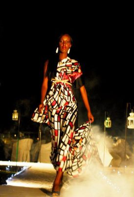 La styliste Vanessa Ishimwe défilait pour Cynthia Munwangari  © Teddy Mazina (www.akeza.net)