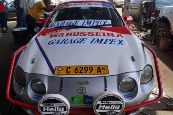 Une des voitures qui ont participé au Rallye de Huye à Butare le week-end dernier (www.akeza.net)