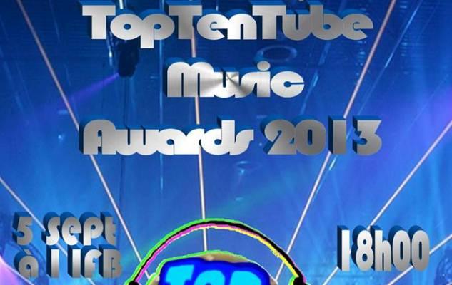 La remise des trophées Toptentube Music Awards 2013 jeudi le 5 septembre (www.akeza.net)