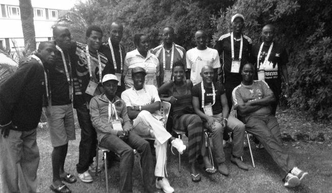 Photo de la délégation burundaise à Nice (www.akeza.net)