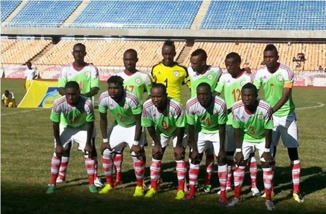 L' équipe nationale en Tanzanie (www.akeza.net)