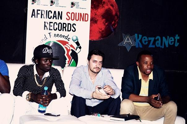 Sat B , Takis et Béni , tous de African Sound (www.akeza.net )