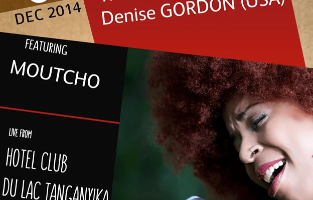 Le trio Jazz-rock Moutcho en concert avec l'américaine Denise Gordon (www.akeza.net)