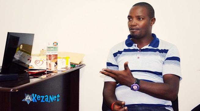 Jean de Dieu NSHIMIRIMANA, le Directeur de BURCO sprl.(www.akeza.net)