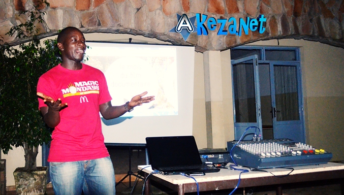 Epipode NSABIYAKARE Président du club RFI  Bujumbura.(www.akeza.net)