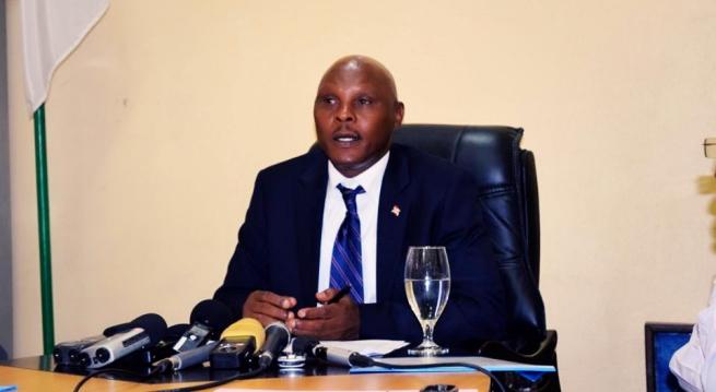 Adolphe Rukenkanya, Ministre de la jeunesse, sport et culture.©Akeza.net