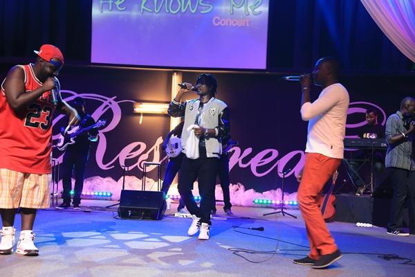 GMP pendant la performance de Ntamusifu Yesu ©H Photography