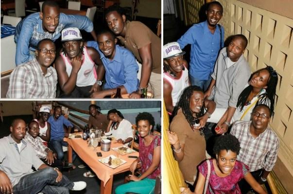Quelques personnes à l'anniversaire de Hervé Cishahayo dit H.(www.akeza.net)