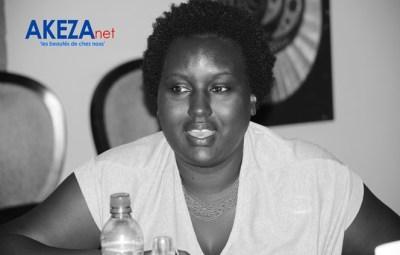 Diane Kaneza , chargée de la programmation au FESTICAB ©Akeza.net