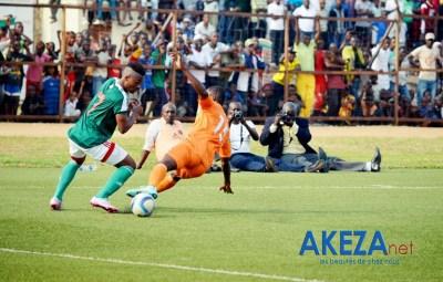 Abdul Razak Fiston lors du match Burundi-Niger ©Akeza.net