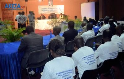Célébration de la journée internationale de la Francophonie ©Akeza.net