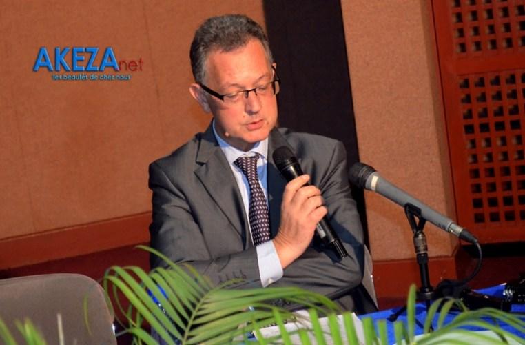 L'ambassadeur de la France au Burundi ©Akeza.net