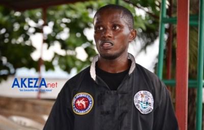 Shifu Yves Ntirenganya promoteur du wushu au Burundi ©Akeza.net