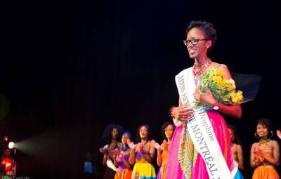 Tessie NIKUZE , 2è candidate de Miss Afrique Montréal2016©Mike Evariste
