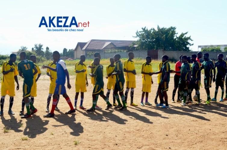 Les équipes en finales ©Akeza.net