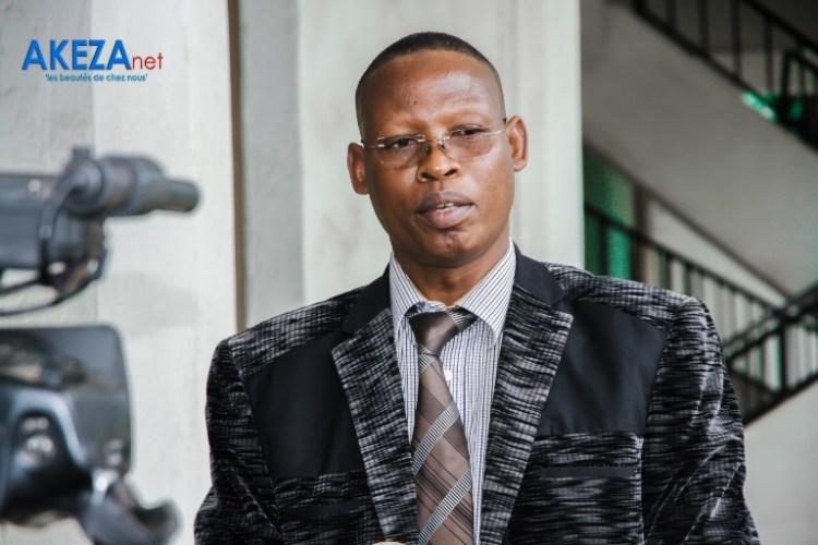 Le secrétaire permanent au ministère de la JSCM.Sylvève Nshagirije©Akeza.net