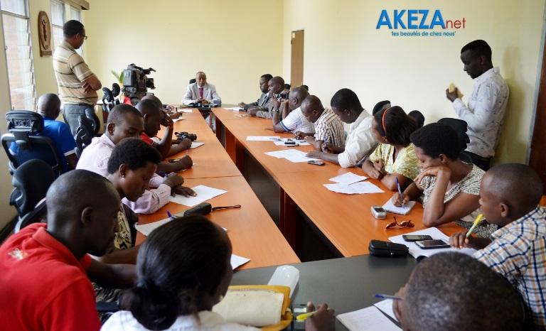 Vue des journalistes participants ©Akeza.Net/Alexandre NDAYISHIMIYE