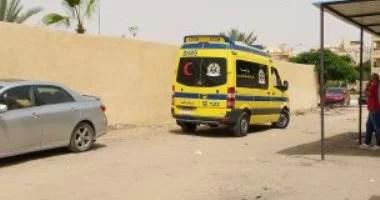 إصابة 6 أشخاص في حادث إنقلاب سيارة بالقرب من مطار أسيوط