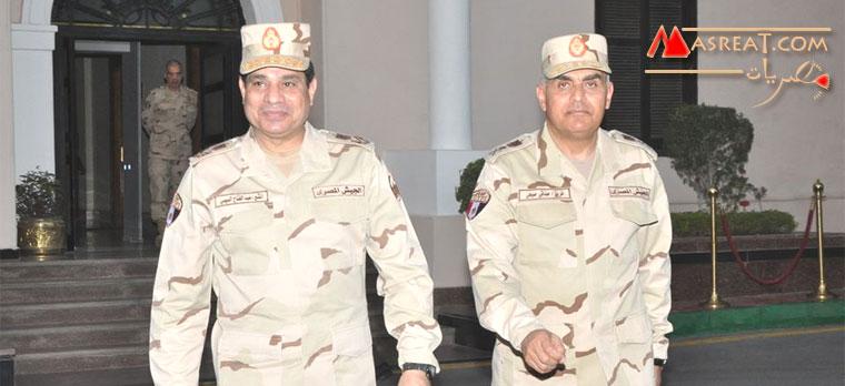 وزير الدفاع الجديد الفريق صدقي صبحي