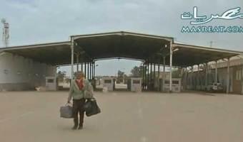 اغلاق المعابر الحدودية بين ليبيا وتونس