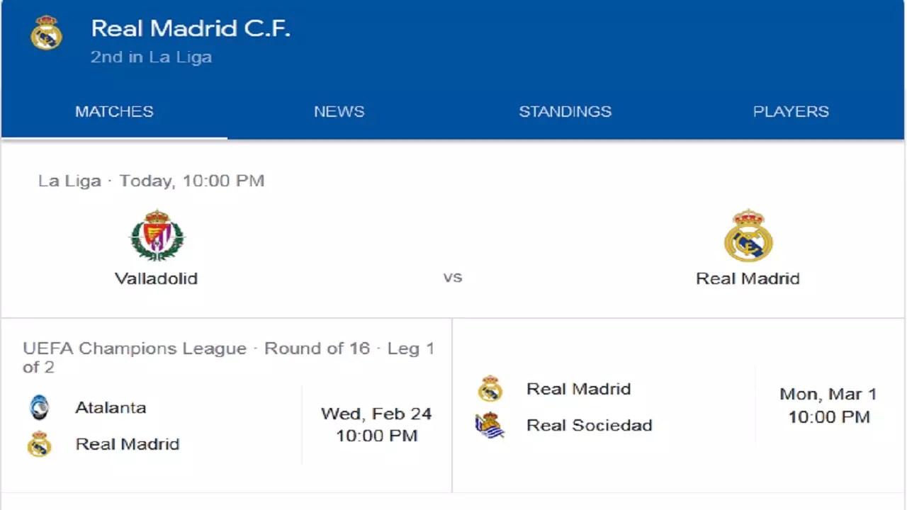 تشكيلة ريال مدريد أمام بلد الوليد وأهم غيابات النادي الملكي اليوم