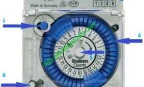 cara setting timer listrik