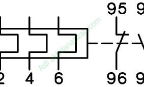 Kontak thermal overload relay