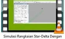 simulasi rangkaian star delta